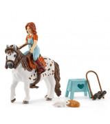 SCHLEICH HORSE CLUB Ratsastuskerho, Mia & Spotty