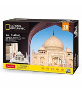 CUBIC FUN 3D Palapeli National Geographic Taj Mahal