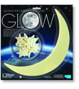 4M Pimeässä hohtava kuu & 12 tähteä