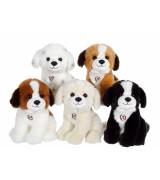 GIPSY TOYS Istuva koira äänellä, 20 cm