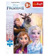 TREFL Mini Maxi Palapeli 20 Frozen 2