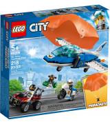 LEGO CITY Police Taivaspoliisin laskuvarjopidätys 60208