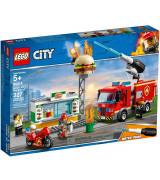 LEGO CITY Fire Purilaispaikan sammutustehtävä 60214