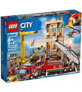 LEGO CITY Fire Keskustan palokunta 60216