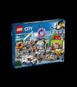 LEGO CITY Donitsikaupan avajaiset 60233