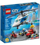LEGO CITY Takaa-ajo poliisihelikopterilla 60243