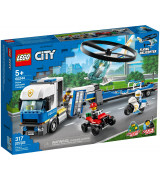 LEGO CITY Poliisihelikopterin kuljetus 60244