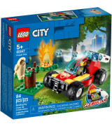 LEGO CITY Metsäpalo 60247