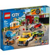 LEGO CITY Tuunausautokorjaamo 60258