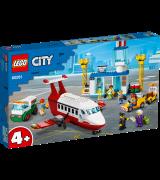 LEGO CITY Airport Keskuslentokenttä 60161