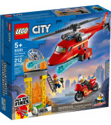 LEGO CITY Palokunnan pelastushelikopteri 60281
