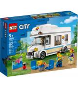 LEGO CITY Lomalaisten asuntoauto 60283