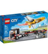 LEGO CITY Näytössuihkarin kuljetusauto 60289