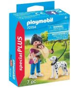 PLAYMOBIL Special Plus Äiti vauvan ja koiran kanssa 70154