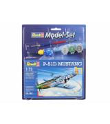 REVELL setti P-51 D Mustang 1:72