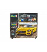 REVELL setti Mercedes-AMG GT 1:24