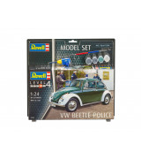 REVELL setti VW Beetle Police 1:24