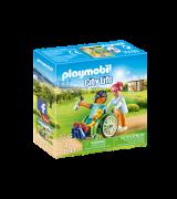 PLAYMOBIL City Life Potilas pyörätuolissa 70193