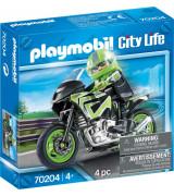 PLAYMOBIL City Life Moottoripyöräretki 70204