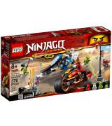 LEGO NINJAGO Kain miekkapyörä ja Zanen moottorikelkka 70667