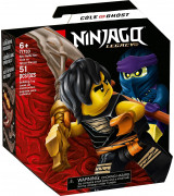 LEGO NINJAGO Eeppinen taistelusetti – Cole vastaan kummitussoturi 71733