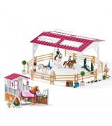 SCHLEICH HORSE CLUB Ratsastuskoulu, hevostalli ja ratsastustarvikkeet