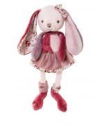 BUKOWSKI Pupu Bibi vaalenpunaisessa mekossa, 25 cm