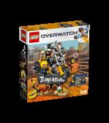 LEGO Overwatch Junkrat ja Roadhog 75977