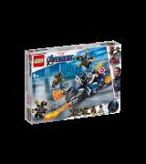 LEGO SUPER HEROES Captain America: outriderien hyökkäys 76123