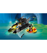 LEGO Super Heroes Lepakkovene ja Pingviinin takaa-ajo! 76158