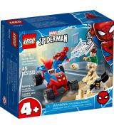 LEGO SUPER HEROES Spider-Manin ja Sandmanin välienselvittely 76172