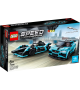 LEGO Speed Champions Formula E Panasonic Jaguar Racing GEN2 auto & Jaguar I-PACE eTROPHY 76898