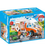 PLAYMOBIL Ambulanssi ja vilkut