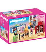 PLAYMOBIL DOLLHOUSE Family Kitchen 70206