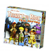 Ticket to Ride First Journey lautapeli