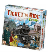 Ticket to Ride Europe lautapeli