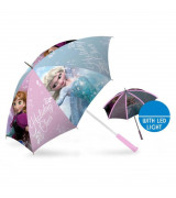 "KIDS Frozen LED Umbrella 18"", automaattinen"