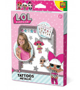 SES L.O.L. Surprise Glitter Tatuoinnit
