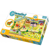 TREFL Giga Puzzle Jättipalapeli Maaseutu
