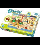TREFL Giga Puzzle Jättipalapeli Rakennusmaa