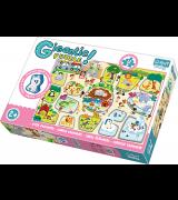 TREFL Giga Puzzle Jättipalapeli Eläintarha