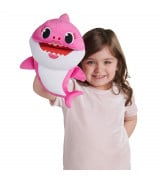 SMART PLAY BABY SHARK Laulava pehmolelu Mummy Shark, 35 cm