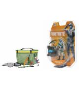 JAZWARES FORTNITE Solo Mode 1 hahmo - Frostbite 10 cm + LAHJA Aarrearkku lisätarvikkeineen