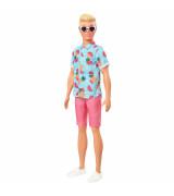 MATTEL BARBIE  Ken Fashionistas Doll - nukke, jolla tropiikkipaita