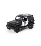 "KINSMART 5"" Jeep Wrangler POLIISI"