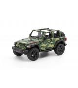 """KINSMART 5"""" 2018 Jeep Wrangler Camo (avokatto), lajitelma"""