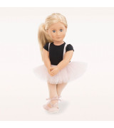 OUR GENERATION Balettitanssijatar Violet Anna hameessaan