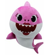 SMART PLAY BABY SHARK Pehmolelu musiikilla (Mommy Shark), 35 cm