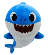 SMART PLAY BABY SHARK Pehmolelu musiikilla (Daddy Shark), 35 cm