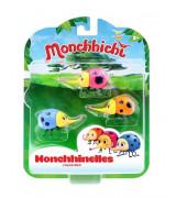 SILVERLIT MONCHHICHI Monchhibugs, 3 kpl, 6 cm